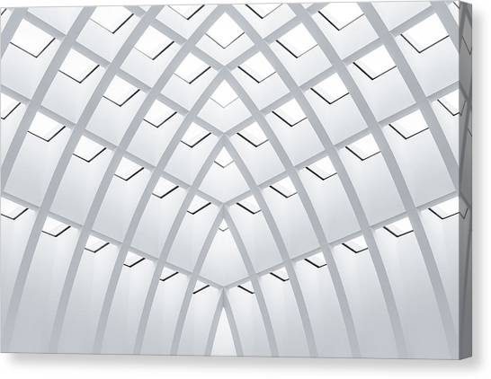 Berlin Canvas Print - All White by Herve Loire