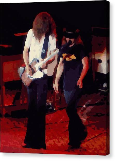 Allen And Ronnie Winterland 1 Canvas Print
