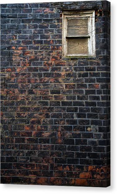 Alley Window Canvas Print