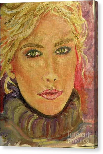 Allison Canvas Print