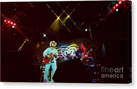 The Allman Brothers Canvas Print - Allman Brothers-dickey-1046 by Gary Gingrich Galleries