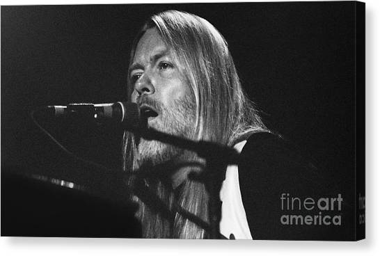 The Allman Brothers Canvas Print - Allman Brothers-gregg-0171 by Gary Gingrich Galleries