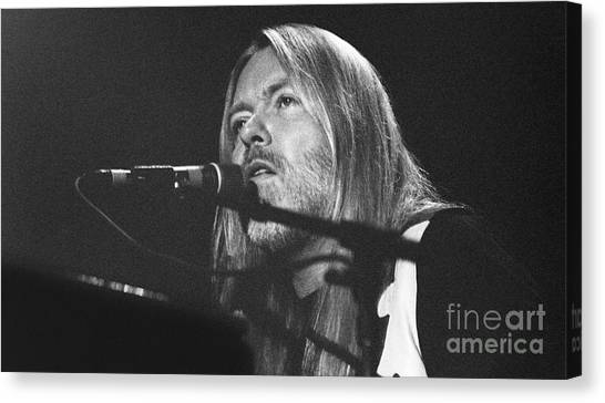 The Allman Brothers Canvas Print - Allman Brothers-gregg-0172-5 by Gary Gingrich Galleries