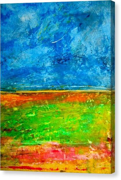 Alluvium Canvas Print