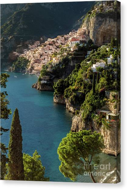 Almalfi Coast Canvas Print