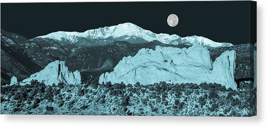 Almost Night Time  Canvas Print