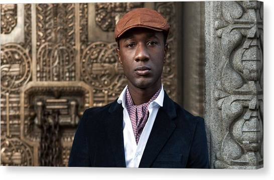 Rulers Canvas Print - Aloe Blacc by Maye Loeser