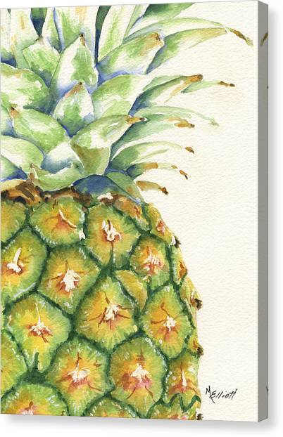Pineapples Canvas Print - Aloha by Marsha Elliott