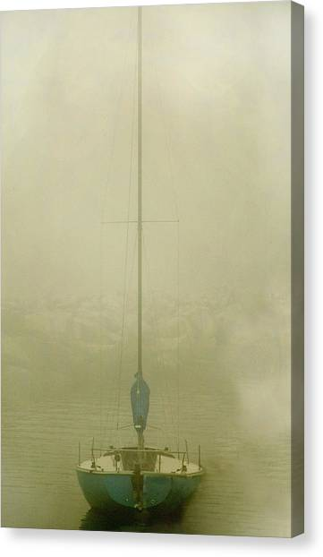 Alone Canvas Print by Clyde Replogle