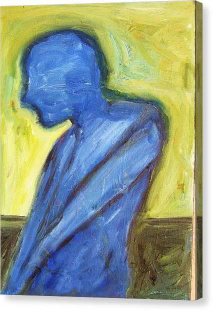 Alone Canvas Print by Ron Klotchman