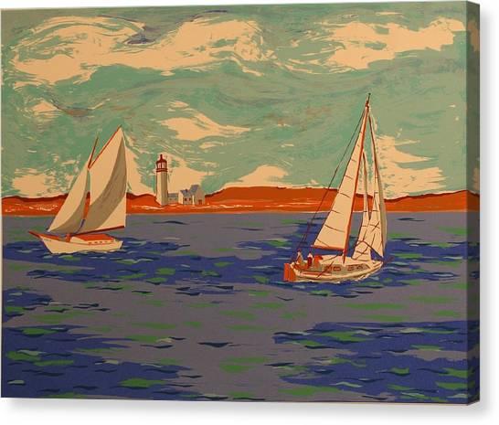 Along The Coast Canvas Print by Biagio Civale