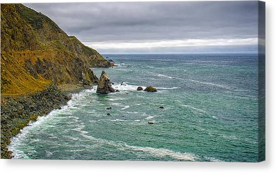 Along The Coast Highway Canvas Print