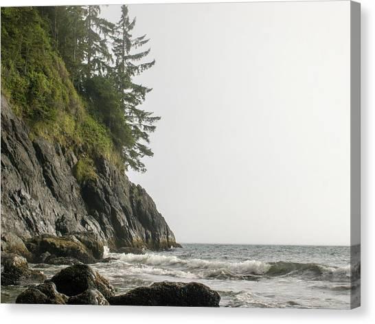 Along The Coast Canvas Print