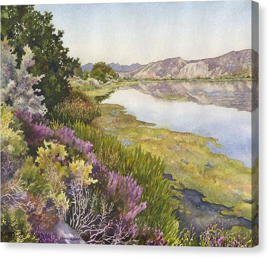 Idaho Canvas Print - Along The Oregon Trail by Anne Gifford