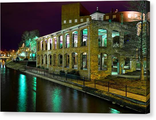 Mayonnaise Canvas Print - Along The Reedy River by Steve Shockley