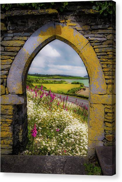 Canvas Print featuring the photograph Along The Shannon Estuary by James Truett