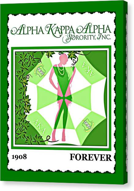 Alpha Kappa Alpha Canvas Print