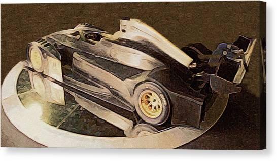Daytona 500 Canvas Print - Alpha Wolf by Susan Maxwell Schmidt
