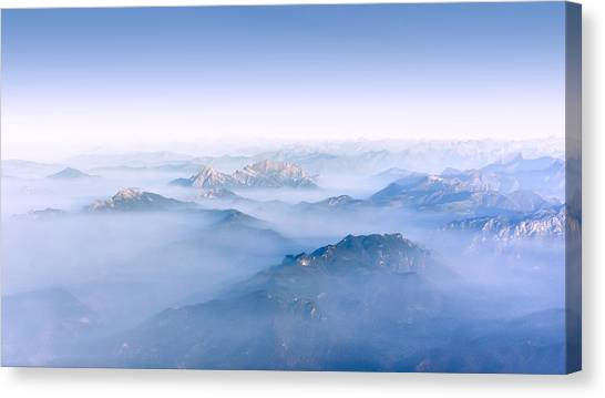 Alpine Islands Canvas Print