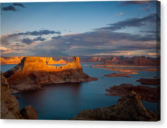 Alstrom Point Lake Powell Canvas Print