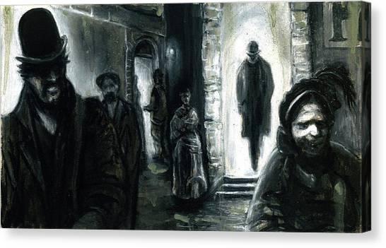 Altered Image 3 Canvas Print by Cameron Hampton PSA