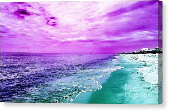 Alternate Beach Escape Canvas Print
