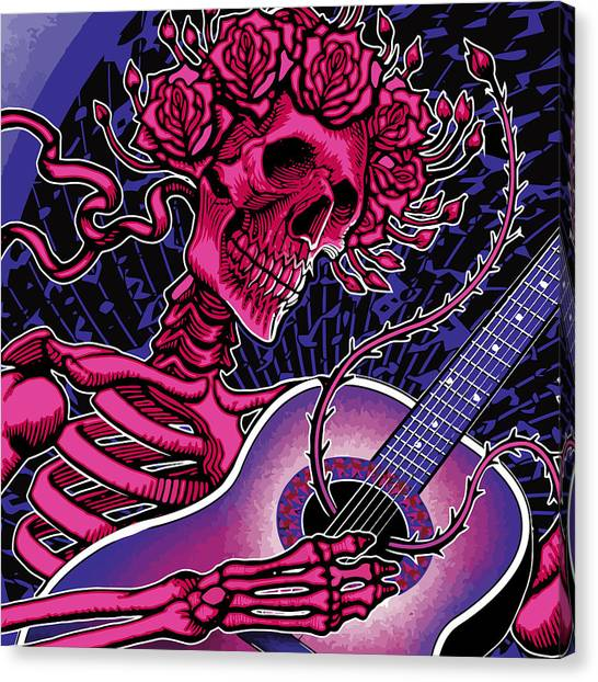 Grateful Dead Canvas Print - Althea by The Bear
