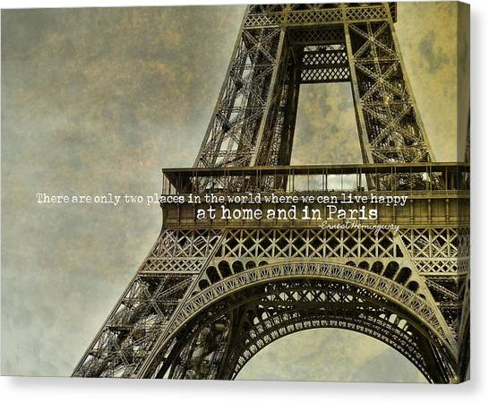 Altitude 95 Quote Canvas Print by JAMART Photography