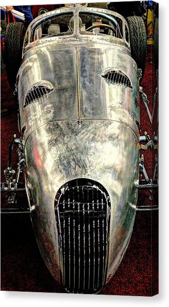 Aluminum Roadster  Canvas Print