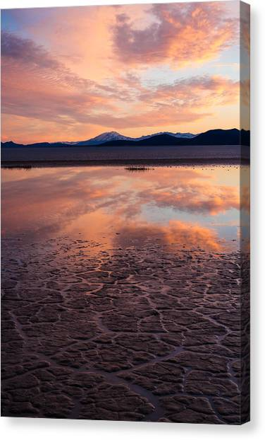 Alvord Sunset Canvas Print