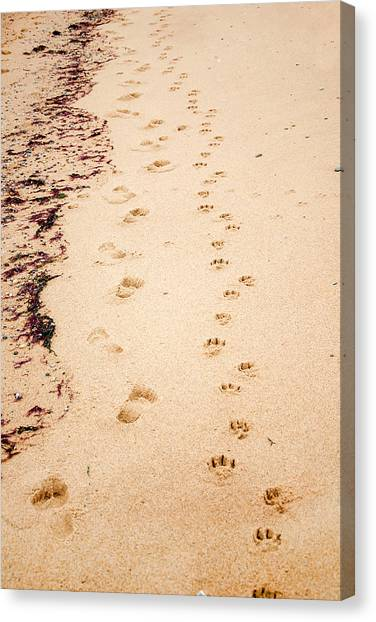 Always Beside You Canvas Print
