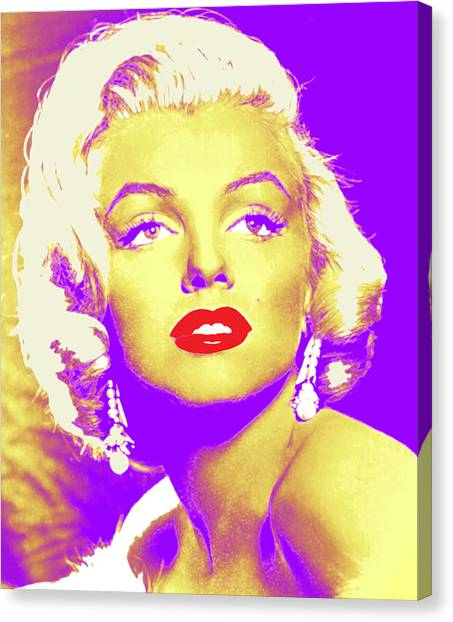 Always Marilyn Canvas Print by Joy McKenzie