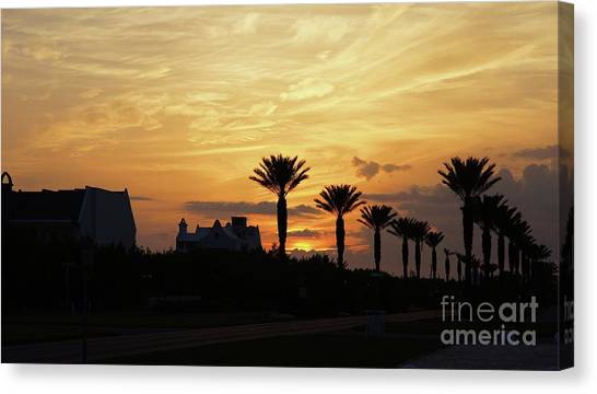 Canvas Print - Alys At Sunset by Megan Cohen