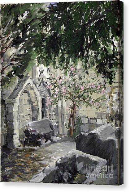 Alyscamps Canvas Print by Gerold Kalter