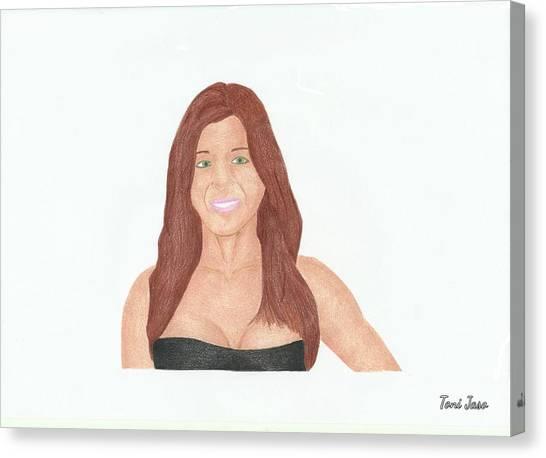 Alyson Hannigan Canvas Print