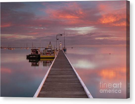 A.m. Solitude Canvas Print