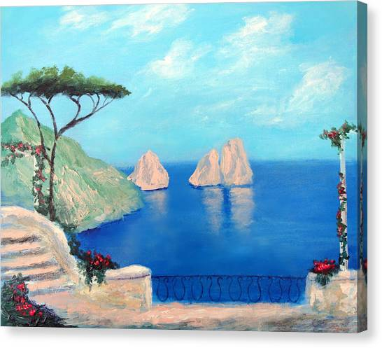 Amalfi  Beauty Canvas Print
