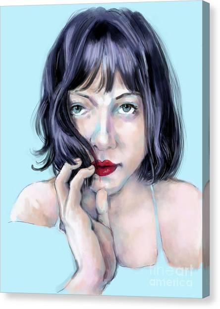 Amanda Canvas Print