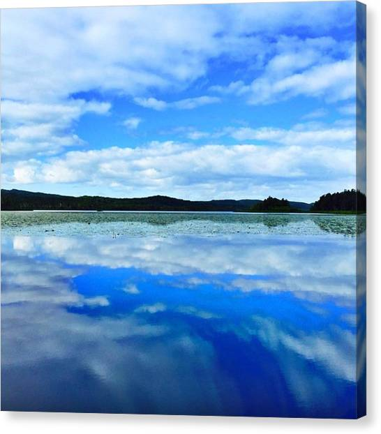 Everglades Canvas Print - #amanphotog #everglades #noosa #mirror by Aman Singh