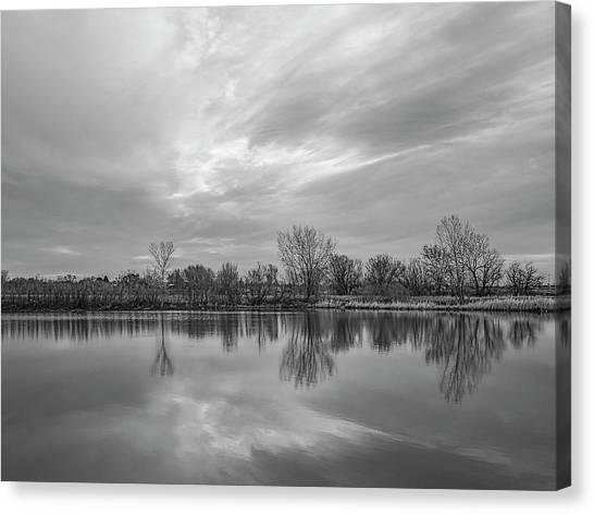 Amarillo Sky Canvas Print