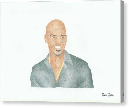 Amaury Nolasco Canvas Print