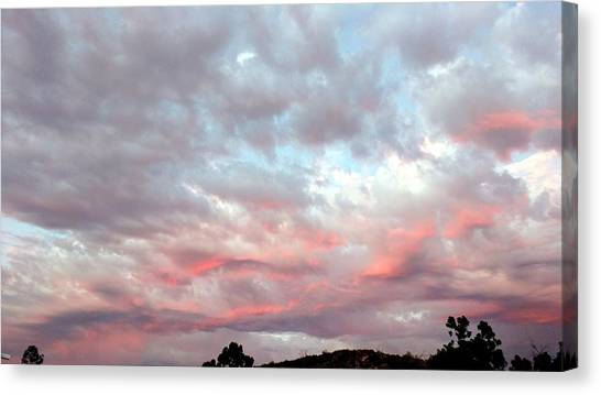 Soft Clouds Canvas Print