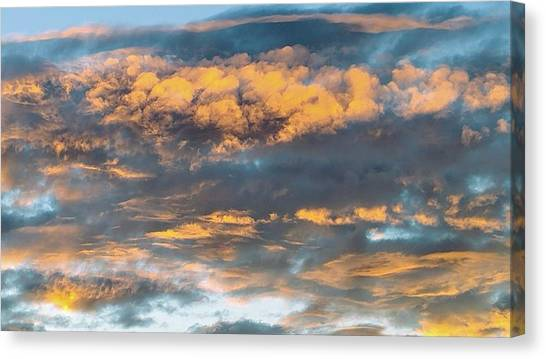 Clouds Of A Different Color Canvas Print