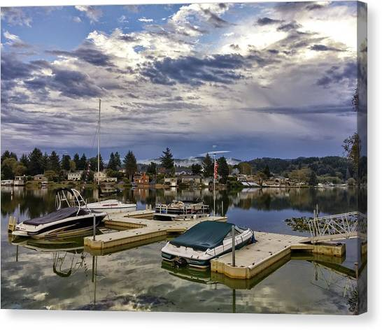 Devils Lake Oregon Canvas Print
