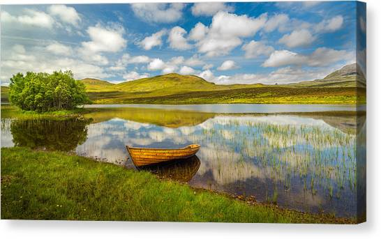 Amazing Scotland Canvas Print