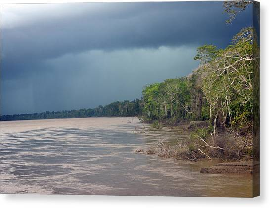 Amazonian Storm Study Number One Canvas Print