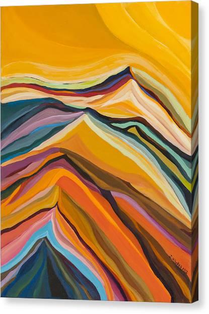 Amber Crest  Canvas Print