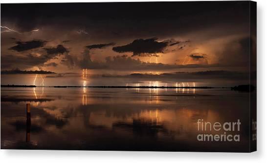 Amber Nights Canvas Print