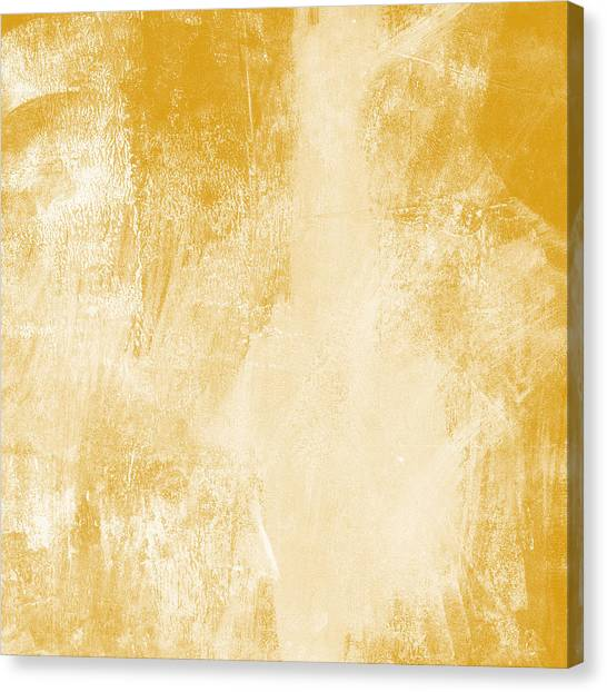 Gold Canvas Print - Amber Waves by Linda Woods