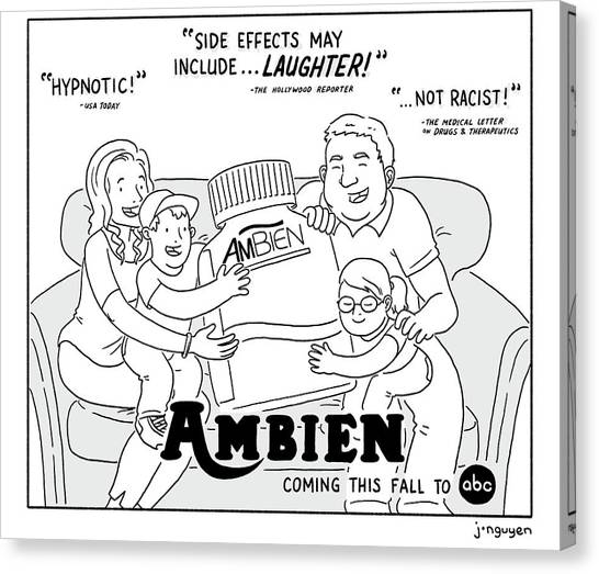 Ambien Coming This Fall To Abc Canvas Print